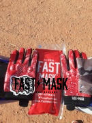 Fast Mask Red Paisley Motorcycle Gloves Review