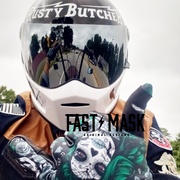 Fast Mask Santa Muerte Fast Mask Motorcycle gloves Review