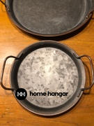 Home Hangar Handcrafted Metal Serving Tray Review