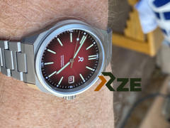 RZE Watches RESOLUTE - Crimson Red Review