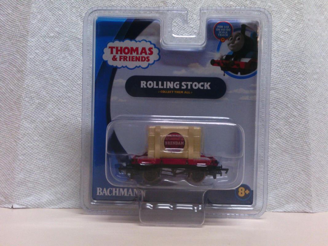 Bachmann Trains Thomas & Friends 1 Plank Wagon with BRENDAM Bay ...