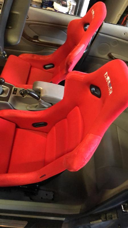 SPORT SEAT MOUNTING M-9124 BMW 3 SERIES E36 E46 DRIVER