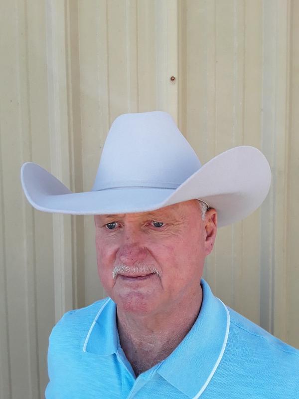 "8X /""Legacy/"" Wool Felt Tan Cowboy Hat Bullhide Hats by Montecarlo"