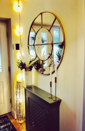 Willow Bay Home & Garden Pacific Lifestyle | Antique Gold Metal 2 Oval Section Wall Mirror Review