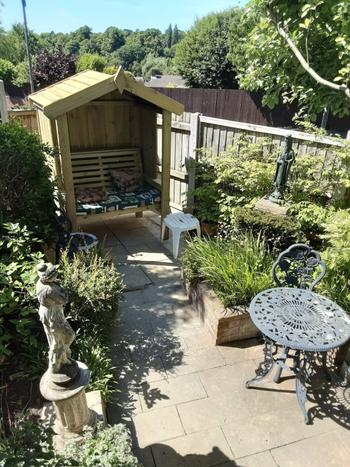 Willow Bay Home & Garden Churnet Valley | Cottage Arbour Fully Enclosed Sits 2 Review