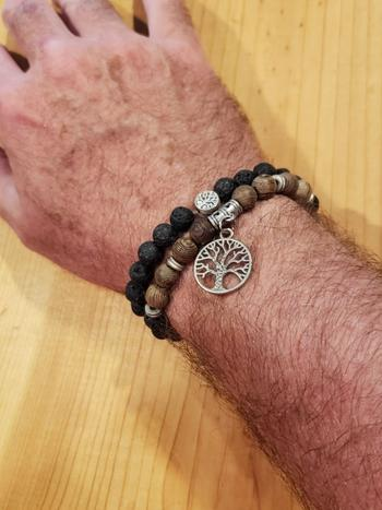 Treehuggers Bracelets Treehuggers Signature Lava Stone: Plant a tree with every bracelet  Review