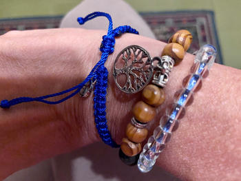 Treehuggers Bracelets POLAR BEAR BRAIDED BRACELET  Review