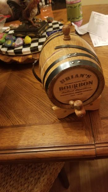Freedom Oak Barrels Personalized American Oak Aging Barrel Review