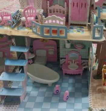 toyzonepakistan DIY Miniature Wooden Doll House - TZP1 - STO Review