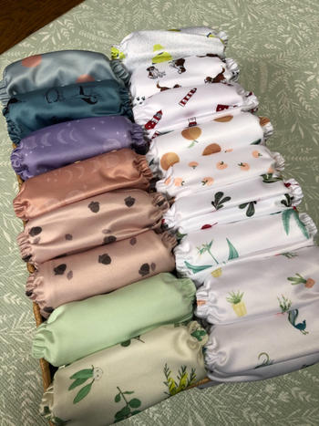 Peachi Baby Radish Reusable Nappy Set Review