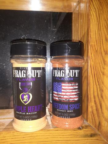 Frag Out Flavor Purple Heart Review