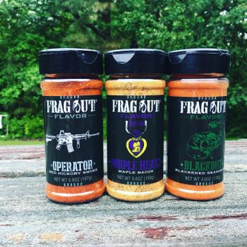 Frag Out Flavor Rubs & Seasonings Sticker Review
