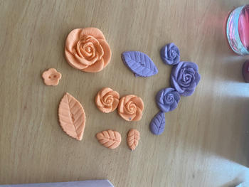 Blossom Sugar Art English Rose Mould Review