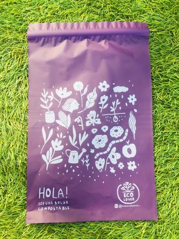 Ecolover Bolsas para despacho Pequeña compostable <br>Holly Jolley - 20x27cm Review