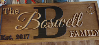 3D Woodworker Last Name Sign Review