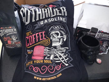 GothRider® Gasoline Coffee Fuel & Skull Kit Review