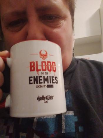 GothRider® Blood Of My Enemies Mug Review