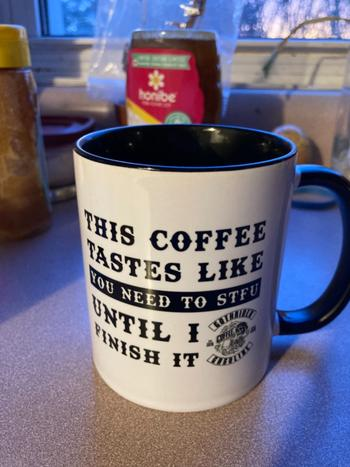 GothRider® Coffee STFU Mug Review