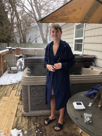 DudeRobe Luxury Men's Hooded Bathrobe Review