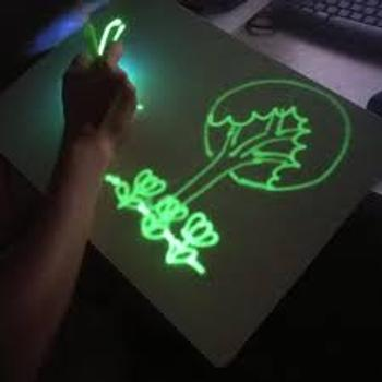 SNAPPYFINDS - Magic Sketch™ LED Drawing Pad Review