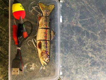 SNAPPYFINDS - Robotic Swimming Fishing Lure Review