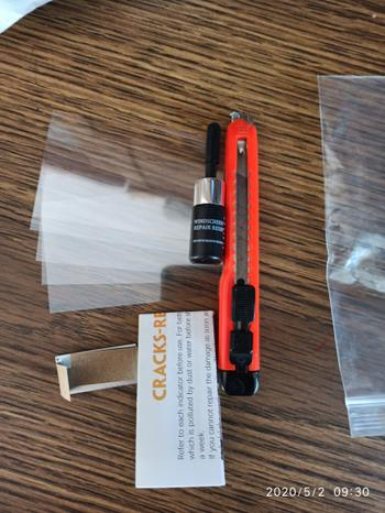 SNAPPYFINDS - Glass Wizard™  Repair Glass Crack Tool Kit (2PCS) Review