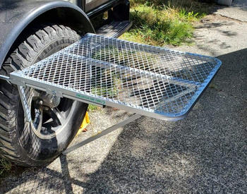 TailGater Tire Table Aluminum Tire Table - Scratch & Paint Review
