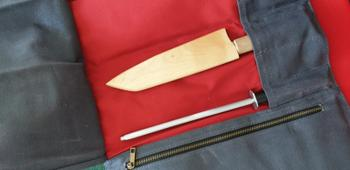 KOTAI Leather knife roll-up Review