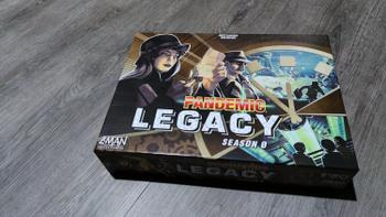Gaming Library Pandemic Legacy: Season 0 Review