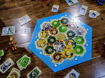 Gaming Library Catan 5th edition Review