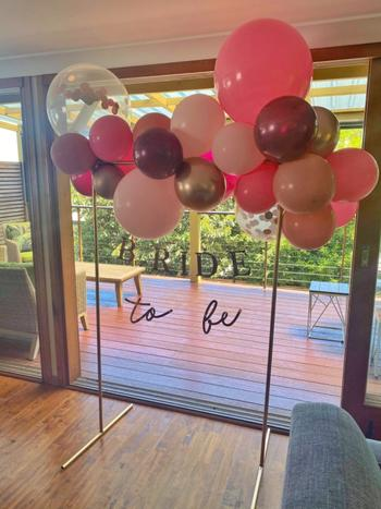 Bang Bang Balloons DIY Balloon Garland Kit - Rosie (pink, chrome gold, burgundy) Review