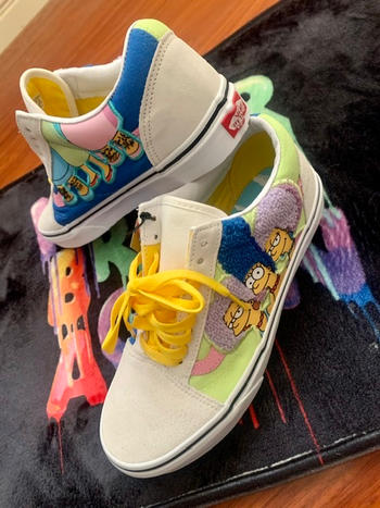 Jacks Surfboards Vans x The Simpsons The Bouviers Old School Review