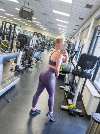 WodBottom Amethyst 24 Shiny Hiney Leggings Review