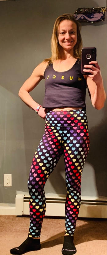 WodBottom I Heart U 24 Leggings Review