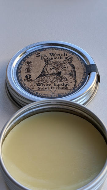 Sea Witch Botanicals Solid Perfume: Hermitage Review