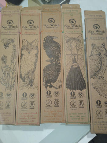 Sea Witch Botanicals Incense Gift Set Review