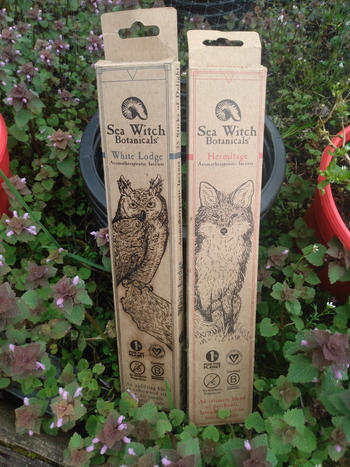 Sea Witch Botanicals All-Natural Incense: Hermitage - with Patchouli, Pink Grapefruit Essential Oils Review