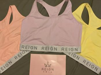 Reign Swim Chill With Me Cozy Fuller Bust Wireless Bralette Top Review