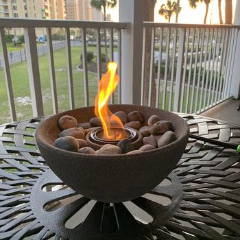 TerraFlame Basin Fire Bowl Table Top Review