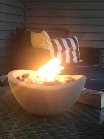 TerraFlame Wave Fire Bowl Table Top Review