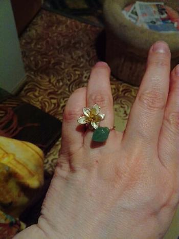 Healing Designed Buds of Abundance - Handmade Aventurine Ring Review
