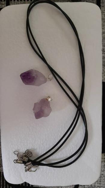 Healing Designed Inciter of Ideas - Natural Amethyst Necklace Review