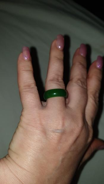 Healing Designed Harmonic Healer - Hand-carved Jade Ring Review