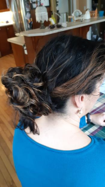 HAIR & BEAUTY CANADA Messy Hair Bun Chignon Hairpiece Review