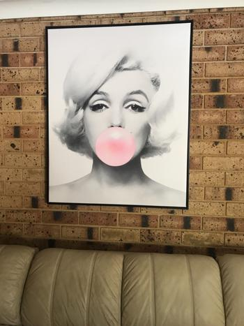 Print and Proper Marilyn Bubblegum - Art Print Review