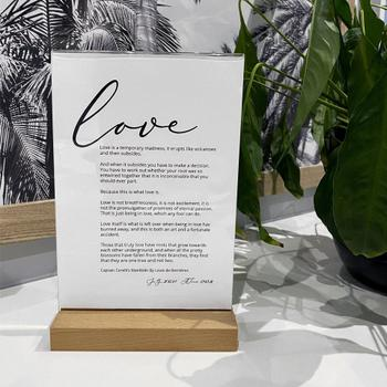 Print and Proper Your own Customised Quote or Words - Art Print Review