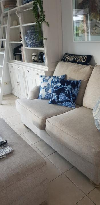 Print and Proper Double Sided Cushion Cover 45cm - Hamptons Review