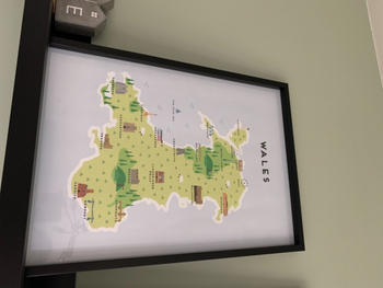 Pepper Pot Studios Wales Map Review