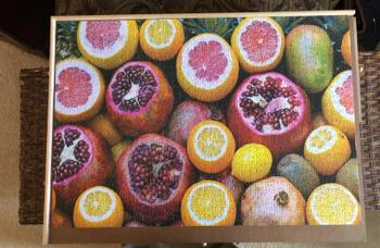 Puzzledly Fruit Lovers Dream | 1,000 Piece Jigsaw Puzzle Review