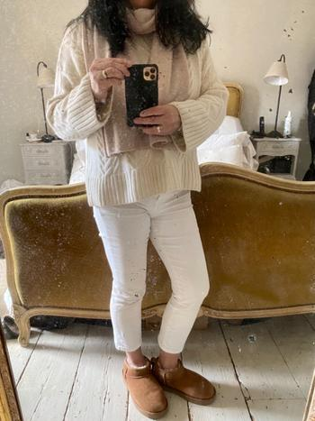 CRUMPET Cable Sweater Off White Review